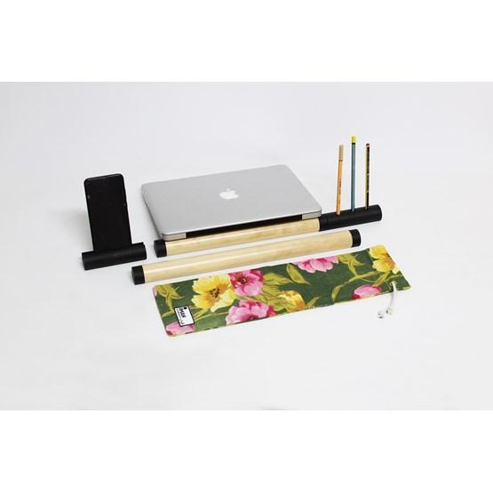 IMAN poste de travail - Fleuri set - Design : Hugi.r