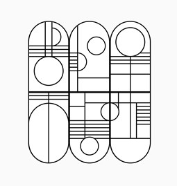 Panneaux muraux BAUHAUS - Designerbox