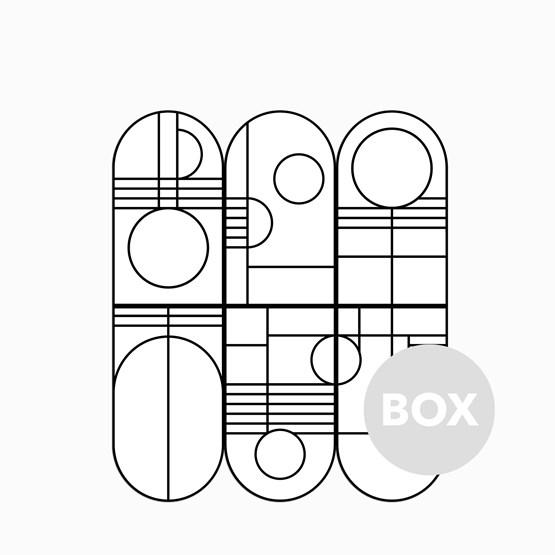 Panneaux muraux BAUHAUS - Box 63 - Design : Coco Brun