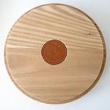 Box PAGODA - two-tone oxide grey / red ochre 5
