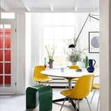 Tabouret Paperthin Original - jaune 9
