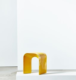 Tabouret Paperthin Original - jaune