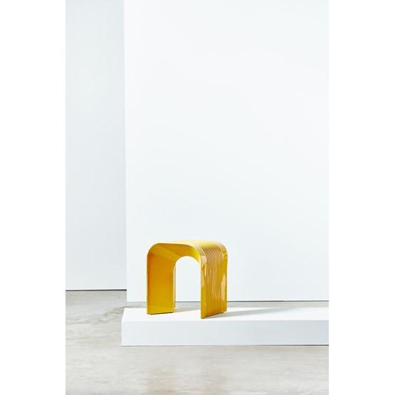 Tabouret Paperthin Original - jaune - Design : Lennart Lauren