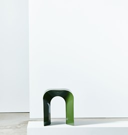 Tabouret Paperthin Original - vert foncé