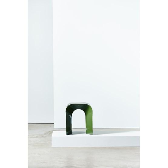 Tabouret Paperthin Original - vert foncé - Design : Lennart Lauren
