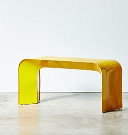 Paperthin Original Bench - yellow