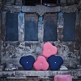 Poppy Bloom Stool - pink 3