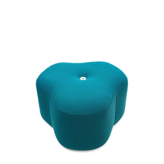 Tabouret Poppy Bloom - petrole - Design : Design By Nico