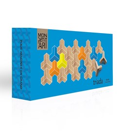 Wooden toy Triada Solar - blue