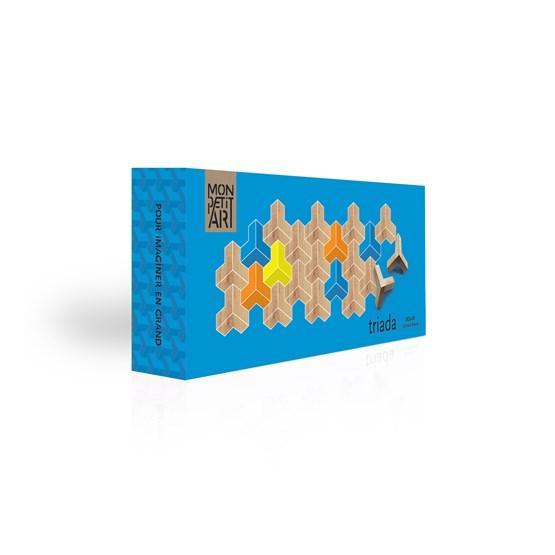 Jeu en bois Triada Solar - bleu - Design : Mon Petit Art