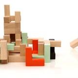 Wooden toy Triada Solar - pastel green 6