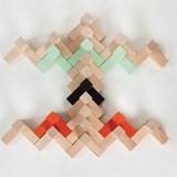 Wooden toy Triada Solar - pastel green 4