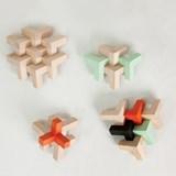 Wooden toy Triada Solar - pastel green 7