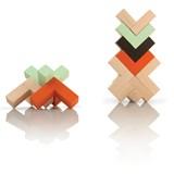 Wooden toy Triada Solar - pastel green 2
