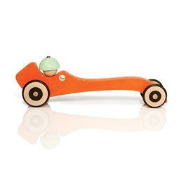 Wooden toy Autotop - orange
