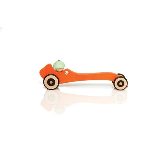 Wooden toy Autotop - orange - Design : Mon Petit Art