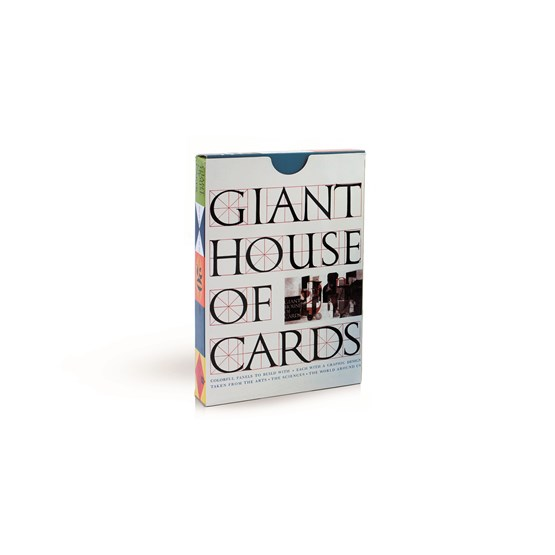 Card game Eames House of Cards - giant - Design : Mon Petit Art