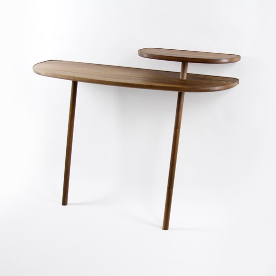CLOUD console - walnut - Design : NOBLE AND WOOD