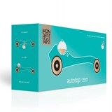 Wooden toy Autotop - turquoise 3