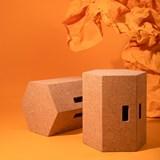 VIRA | stool or table - light cork  8
