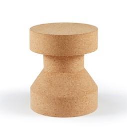Tabouret/Table PIRUETA - liège clair