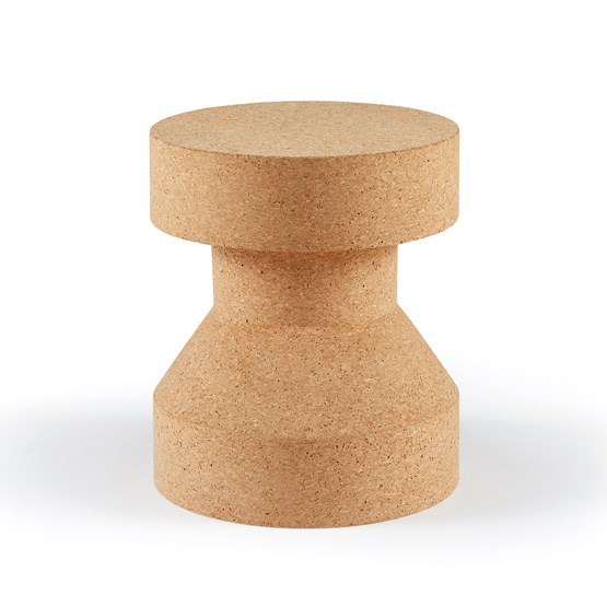PIRUETA | stool or table - light cork  - Design : Galula Studio