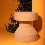 PIRUETA | stool or table - light cork  7
