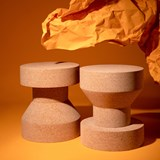 PIRUETA | stool or table - light cork  6