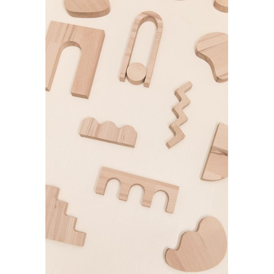Set of decorative objects SHAPES - Design : Little Anana