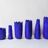 Vase ascensionnel floral S - bleu électrique 5