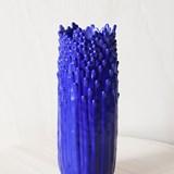 Vase ascensionnel floral S - bleu électrique 2