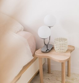 Asymetric side table CAPUCINE