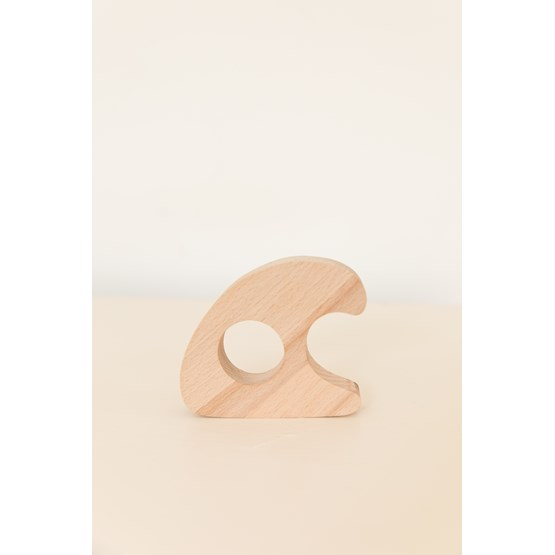 VAGUE Rattle shaped as a wave - Design : Little Anana