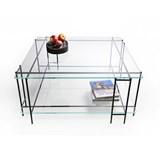 Table basse MIX L en verre extra-clair 3