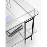 Table basse MIX L en verre extra-clair 4