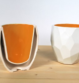 POLIGON Thermo cup - orange