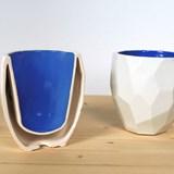 Thermos tasse à café POLIGON - bleu 5