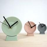 Horloge de bureau désaxée - verte 3