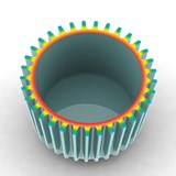 Isolator Cup - blue green 6