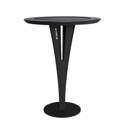 AUGUSTIN side table - valchromat black steel