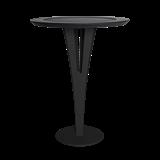 Table d'appoint AUGUSTIN - acier noir valchromat 8