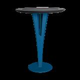 Table d'appoint AUGUSTIN - acier bleu valchromat 14
