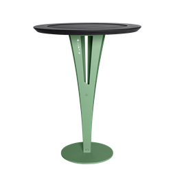 AUGUSTIN side table - valchromat green steel