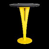Table d'appoint AUGUSTIN - acier jaune et valchromat 14