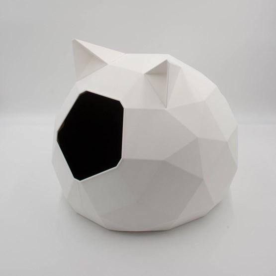 Niche TAO - blanche avec oreilles  - Design : Catalpine
