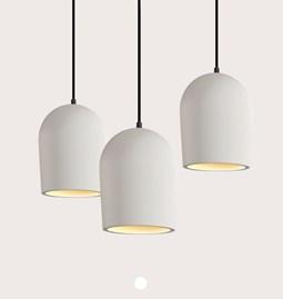 Set of 3 pendant light Archy - medium