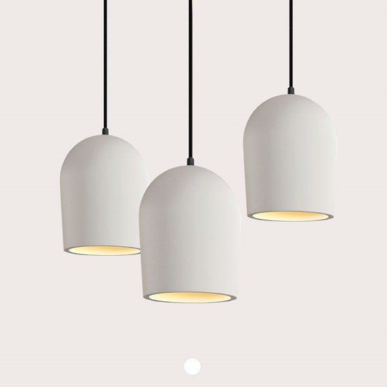 Set of 3 pendant light Archy - medium - Design : More Circular