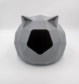 TAO kennel - grey with ears