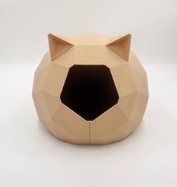 TAO kennel - wood with ears