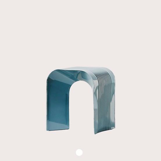 Tabouret Paperthin Original - gris - Design : Lennart Lauren